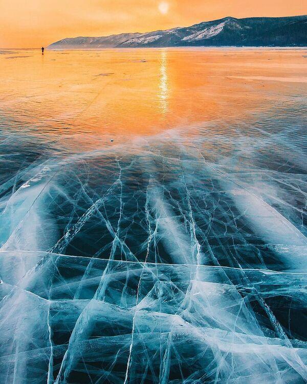 Ledový Bajkal - Sputnik Česká republika