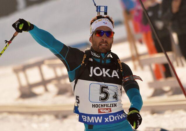 Francouzský biatlonista Martin Fourcade