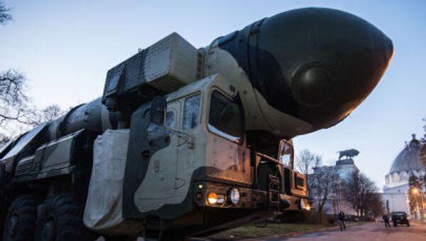 Raketomet Topol - Sputnik Česká republika