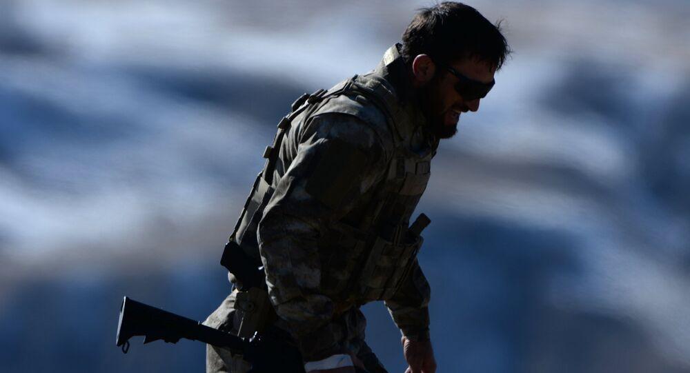 Čečenský voják