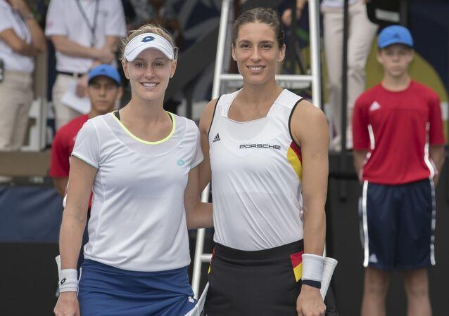 Alison Riskeová a Andrea Petkovicová