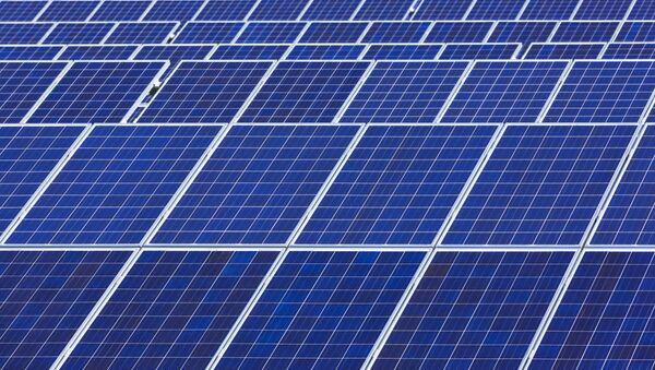 Solární elektrárna - Sputnik Česká republika