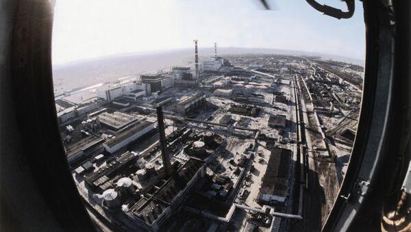 Pohled na Černobylskou elektrárnu - Sputnik Česká republika