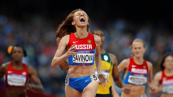 Ruská atletka Marie Savinovová. Archivní foto - Sputnik Česká republika