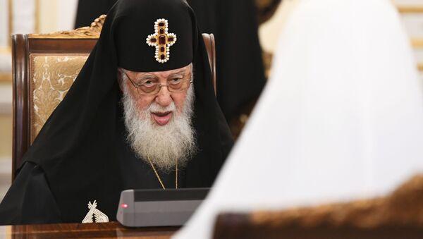 Patriarch Gruzie Ilija II - Sputnik Česká republika