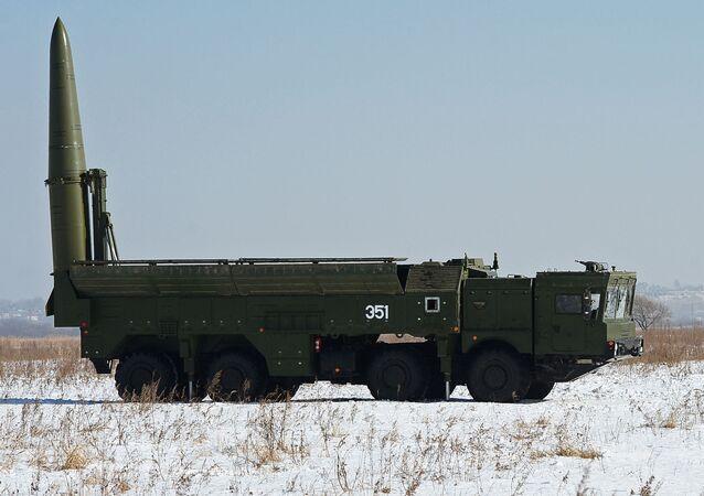 Operačně-taktický raketový systém Iskander-M