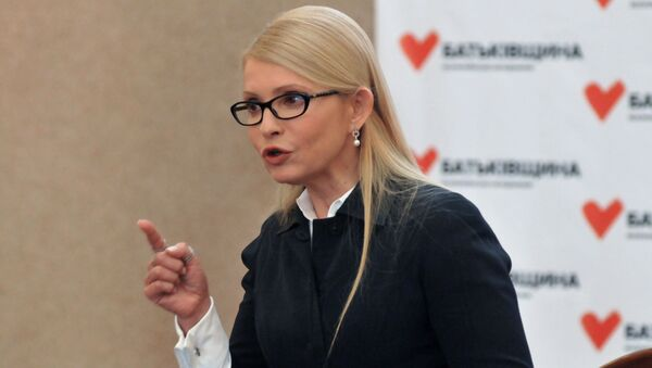 Julia Tymošenková - Sputnik Česká republika