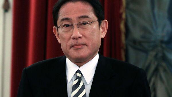 Japonský ministr zahraničních věcí Fumio Kišida - Sputnik Česká republika