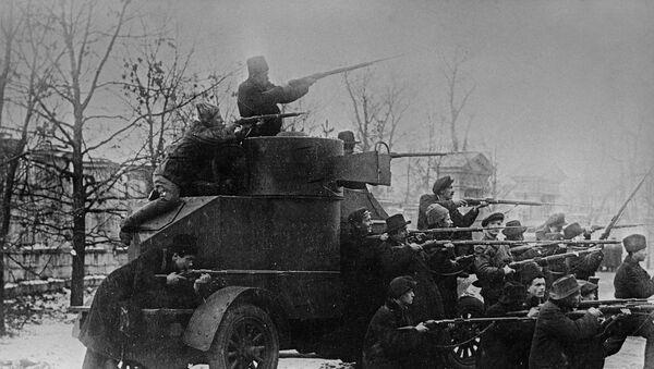 Začátek povstvání v Petrohradu. 1917 - Sputnik Česká republika