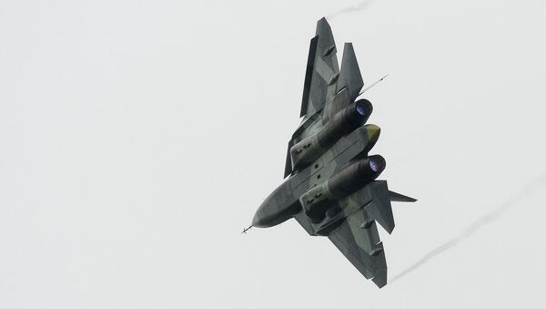 Stíhačka T-50, PAK FA - Sputnik Česká republika