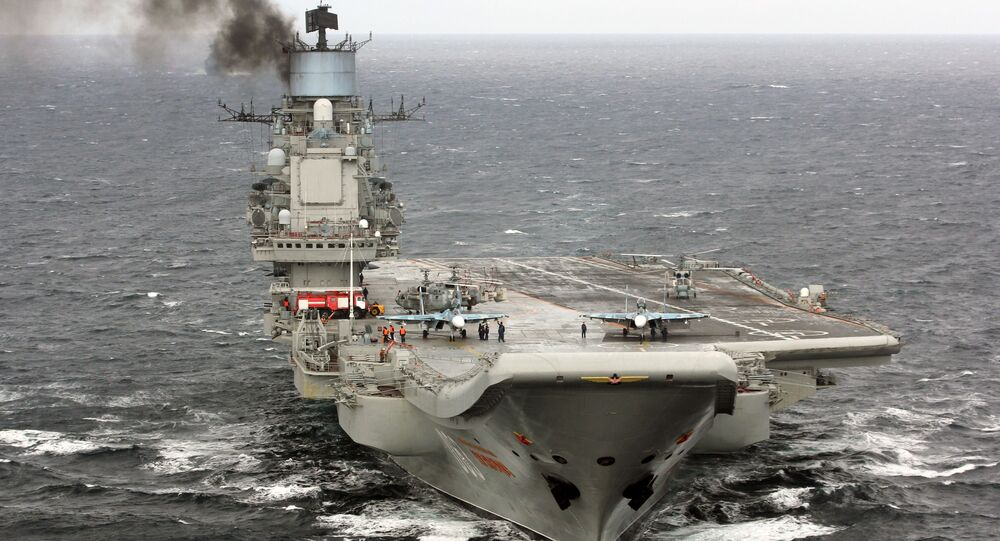 Těžký letadlový křižník Admirál Kuzněcov