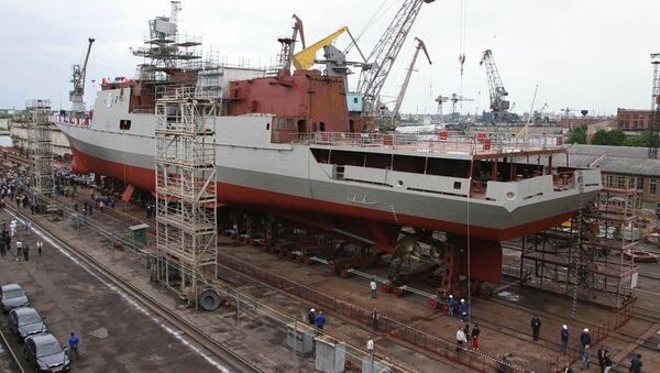 Fregaty projektu 11356 - Sputnik Česká republika