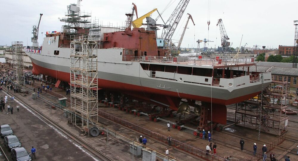 Fregaty projektu 11356