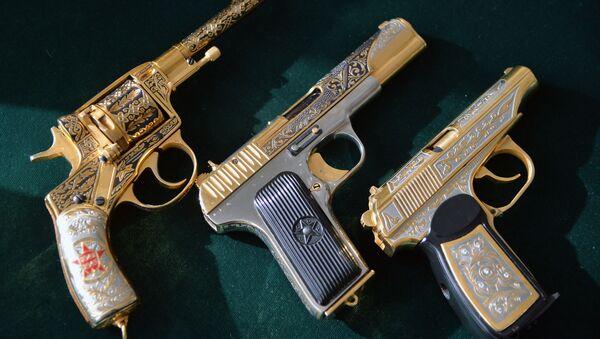 Pistole pro Ministerstvo obrany RF. Ilustrační foto - Sputnik Česká republika