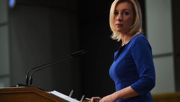 Oficiální mluvčí ruského zahraničněpolitického rezortu Marie Zacharovová - Sputnik Česká republika