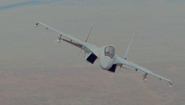 Moderní stíhačka Su-35S byla zařazena do výzbroje ruských VKS - Sputnik Česká republika