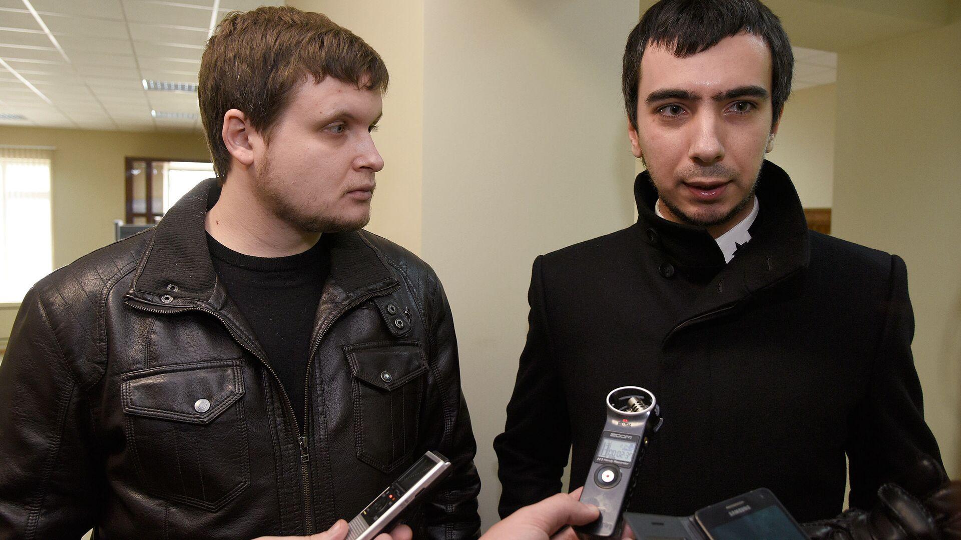 Prankeři Lexus (Andrej Stoljarov) a Vovan (Vladimir Kuzněcov) - Sputnik Česká republika, 1920, 14.09.2021
