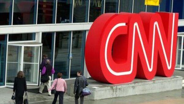 Logo CNN - Sputnik Česká republika