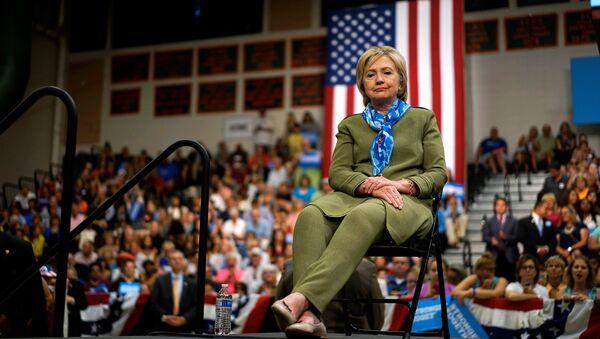 Kandidátka na funkci prezidenta USA za Demokratickou stranu Hillary Clintonová - Sputnik Česká republika