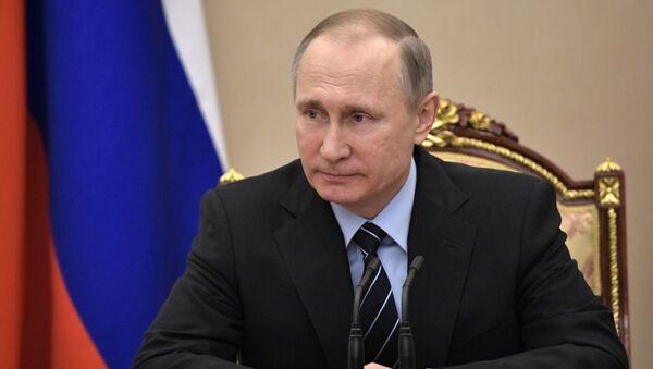 Prezident RF Vladimír Putin - Sputnik Česká republika