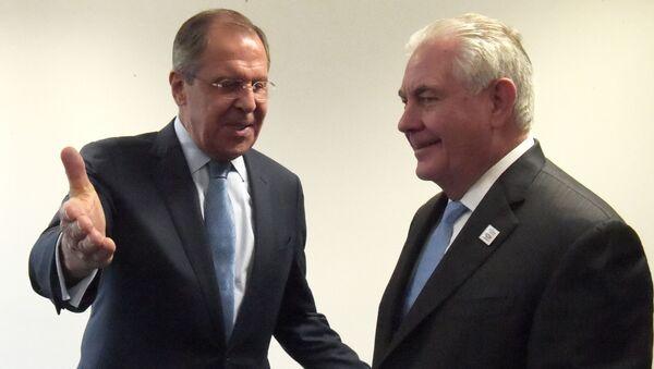 Setkání Rexa Tillersona a Sergeje Lavrova - Sputnik Česká republika