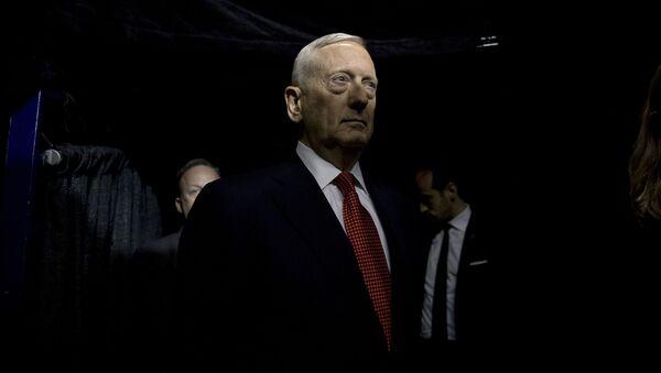 Ministr obrany James Mattis - Sputnik Česká republika