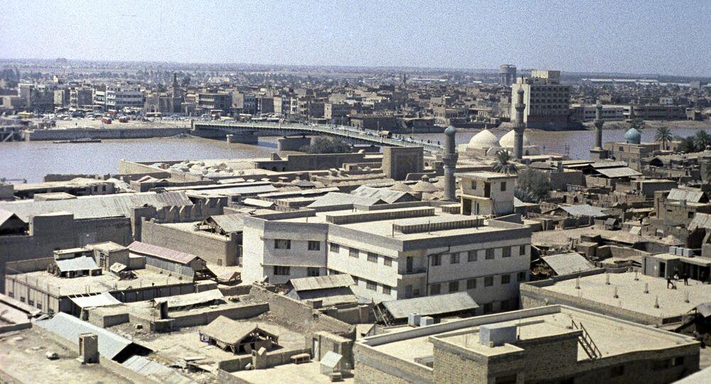 Pohled na Bagdád