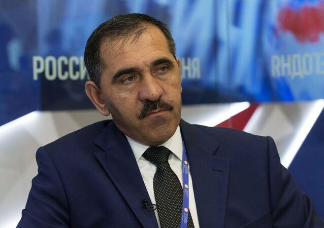 Vedoucí představitel Ingušska Junus-Bek Jevkurov