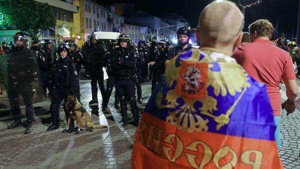 Po skončení zápasu v Marseille - Sputnik Česká republika