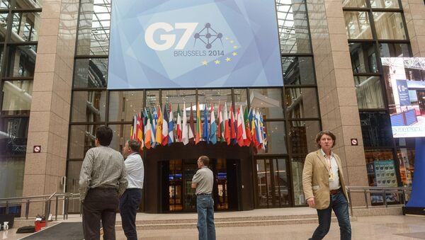 Summit G7 v Bruselu - Sputnik Česká republika