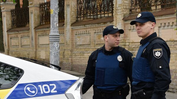 Ukrajinští policisté - Sputnik Česká republika