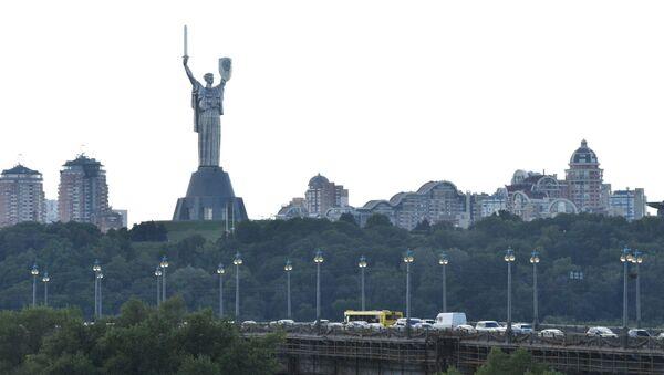 Pomník Matka vlast v Kyjevě - Sputnik Česká republika