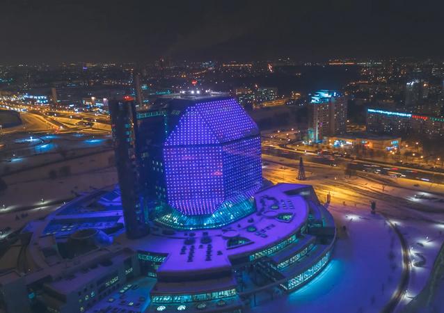 DroneLapse. Minsk. 2016