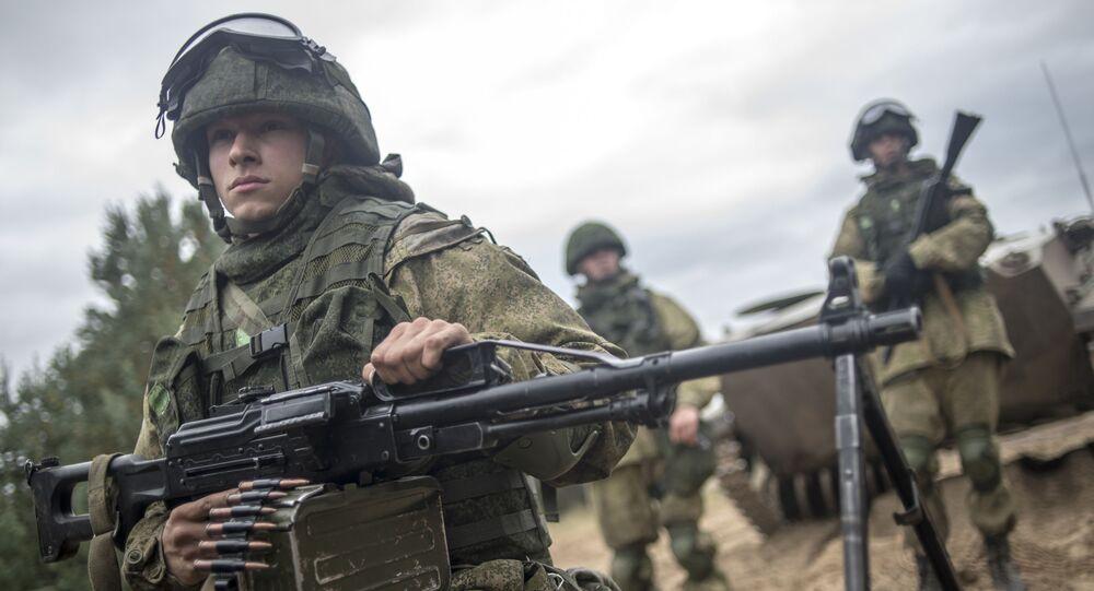 Příslušníci Ruské gardy