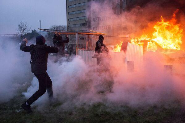 Protesty proti policejnímu násilí ve Francii - Sputnik Česká republika