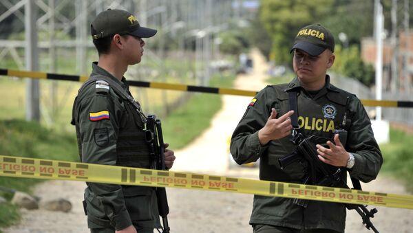 Kolumbijská policie v Bogotě. Ilustrační foto - Sputnik Česká republika