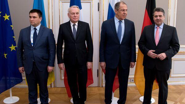 Schůzka ministrů zahraničí v normandském formátu - Sputnik Česká republika