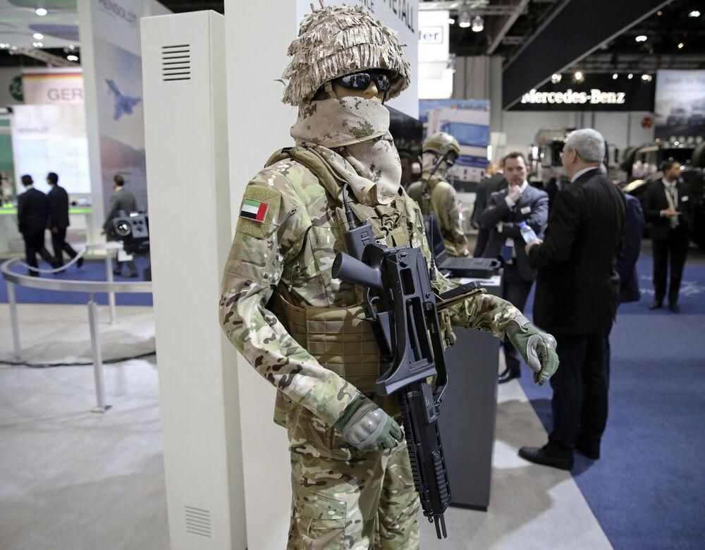 Mezinárodní výstava zbraní IDEX-2017