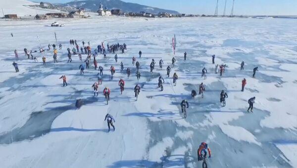 Závody Ledová bouře na Bajkalu - Sputnik Česká republika