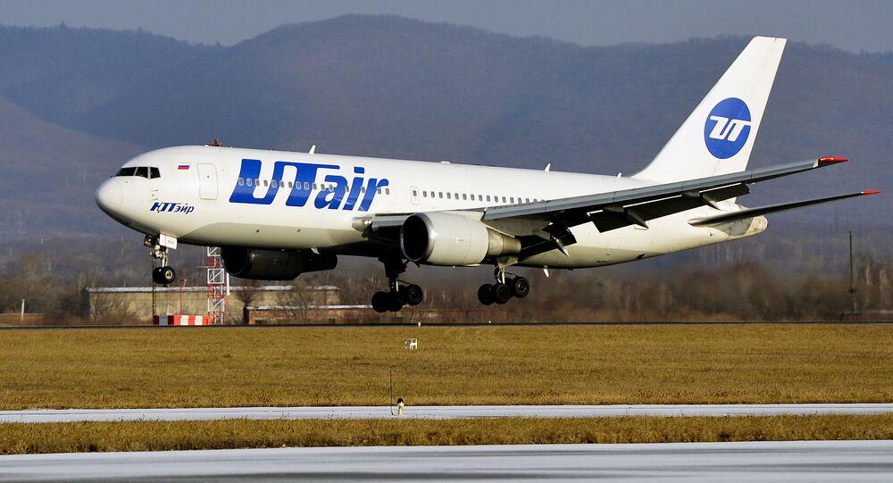 Letadlo Boeing 767-200 společnosti Utair