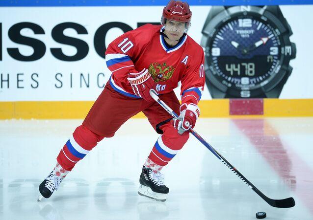 Slavný sovětský a ruský hokejista Pavel Bure