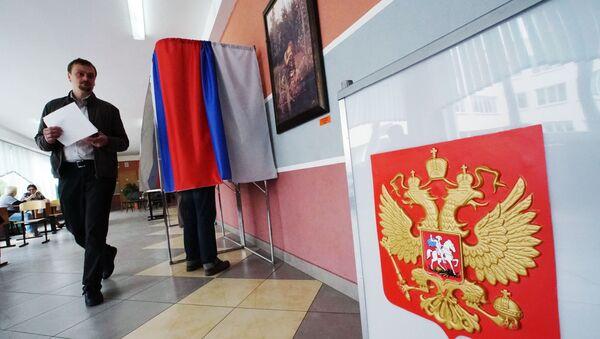 Parlamentní volby v Rusku - Sputnik Česká republika