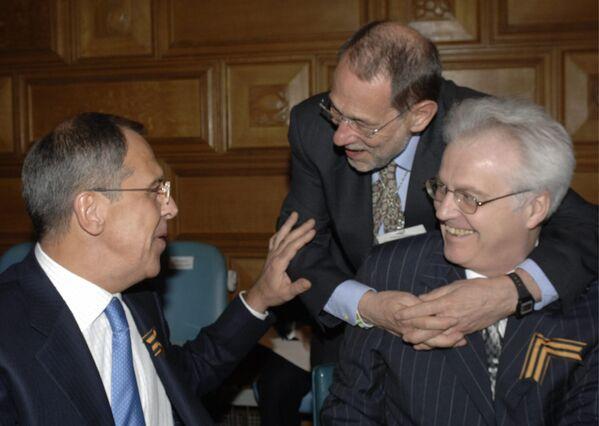 Maestro diplomacie Vitalij Čurkin - Sputnik Česká republika