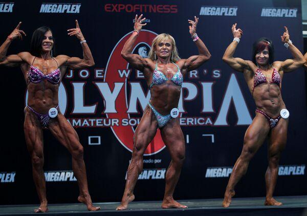 Soutěž v bodybuildingu v Kolumbii - Sputnik Česká republika