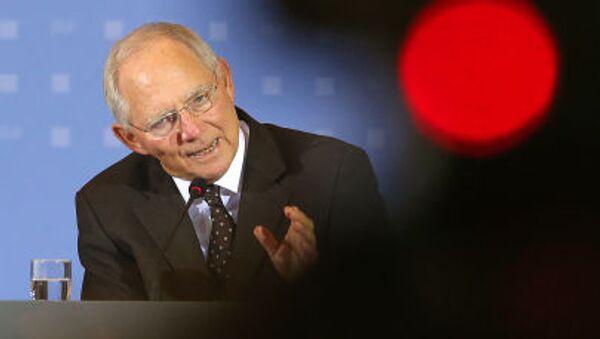 Wolfgang Schäuble - Sputnik Česká republika