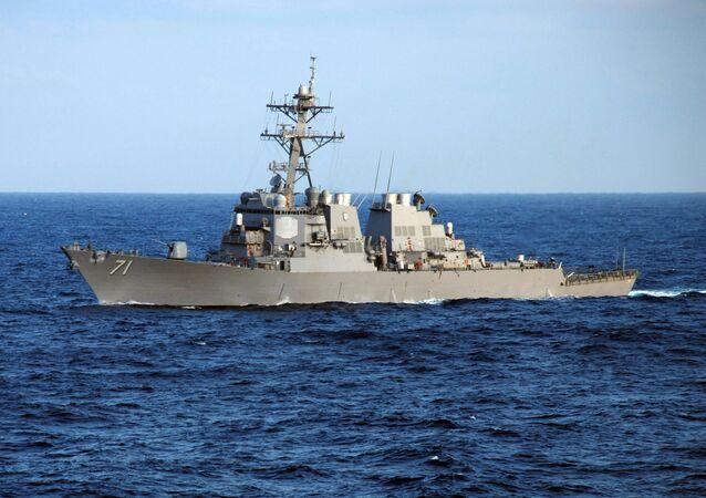 Torpédoborec Ross amerického námořnictva
