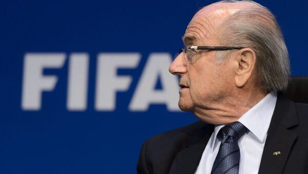 Joseph Blatter - Sputnik Česká republika