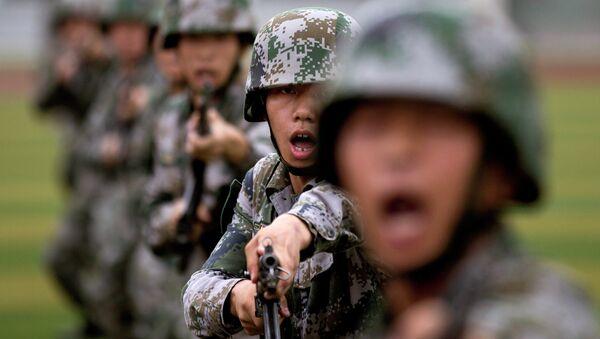 Čínští vojáci - Sputnik Česká republika