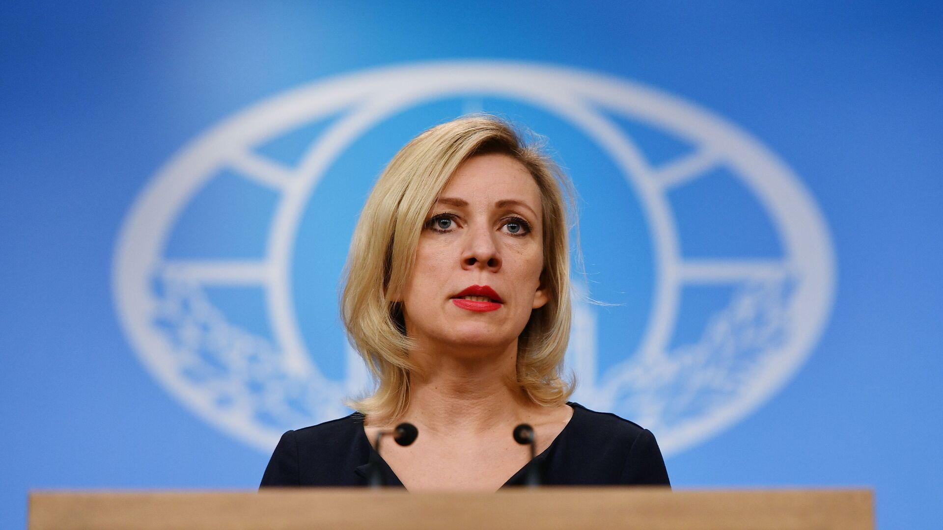 Oficiální mluvčí ruského ministerstva zahraničních věcí Maria Zacharovová - Sputnik Česká republika, 1920, 31.05.2021