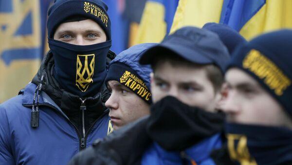 Mítink v Kyjevě - Sputnik Česká republika